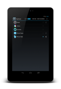 DayDream settings