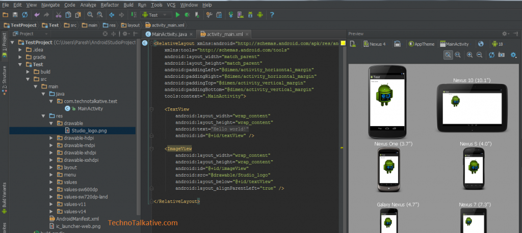 Darcula theme - Android studio