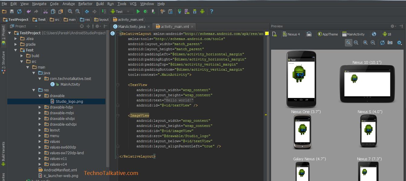 Darcula theme - Android studio