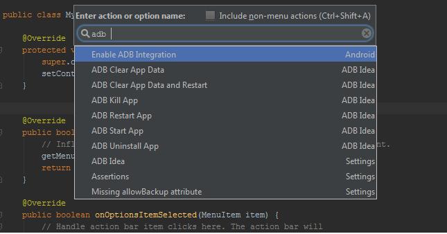 adb idea - android useful tools