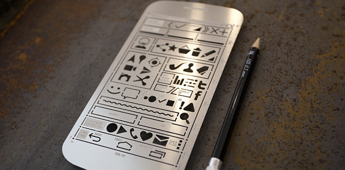 UI stencils - wireframe/mockup design tool