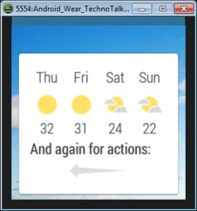 android wear smartwatch emulator 5