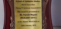 Young IT Achiever Award _ Paresh Mayani 1