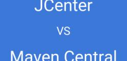jcenter vs mavencentral