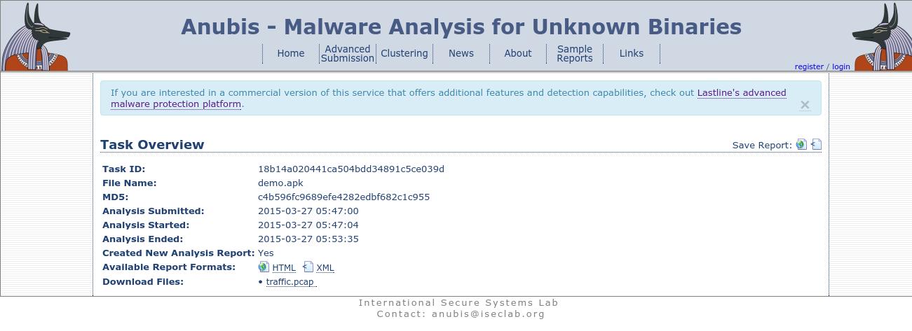 Anubis malware analysis 2