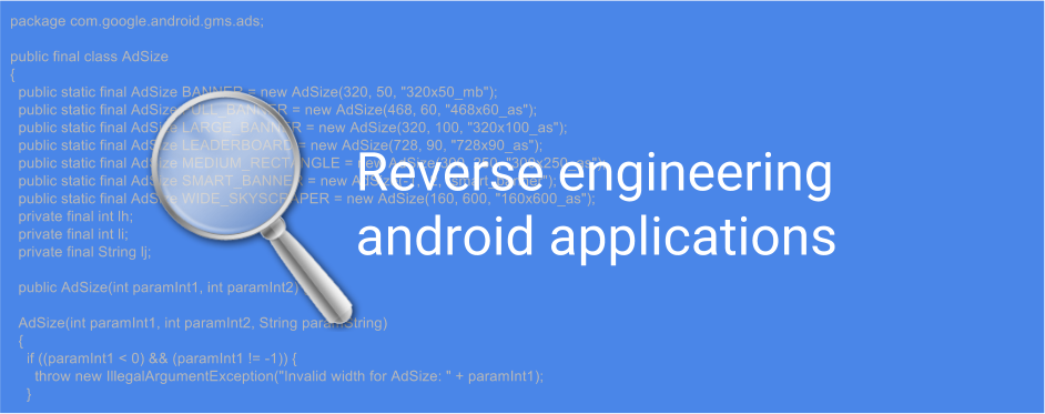 Reverse-engineering-android-applications