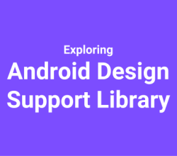 exploring android design support library