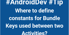androiddev tips bundle keys constant _ thumb